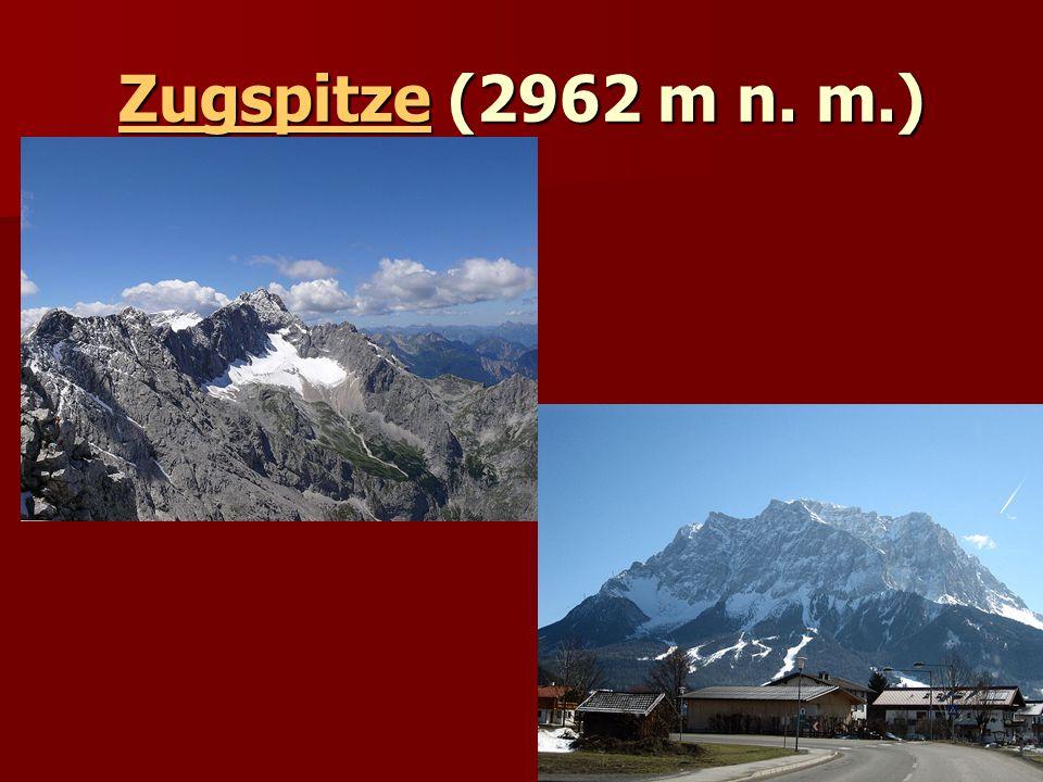 ZugspitzeZugspitze (2962 m n. m.) Zugspitze
