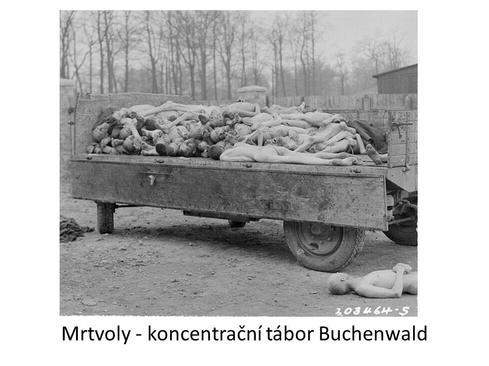 Mrtvoly - koncentrační tábor Buchenwald