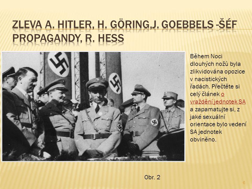 6 Během Noci dlouhých nožů byla zlikvidována opozice v nacistických řadách.