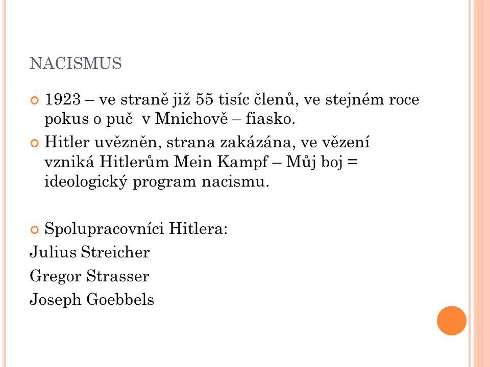 F AŠISMUS V JINÝCH STÁTECH : Rakousko – DNSAP.České pohraničí – Henleinova Sudetoněmecká strana.