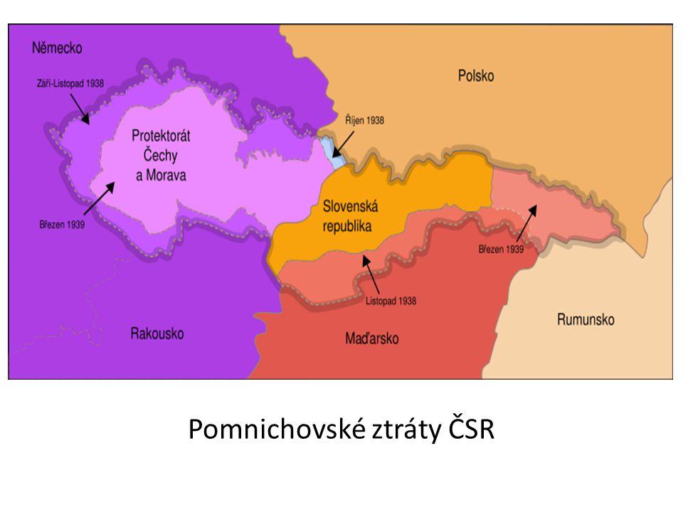 Pomnichovské ztráty ČSR