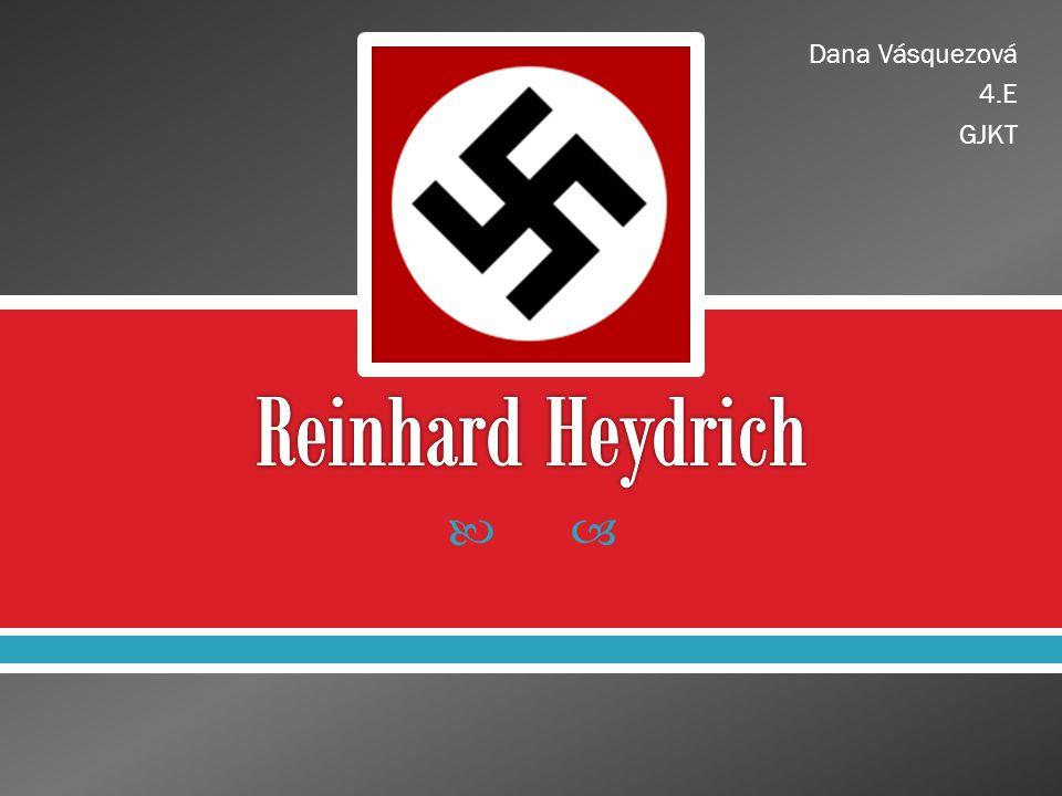  životopis  atentát na Heydricha  Heydrichiáda  závěrečné shrnutí  zdroje