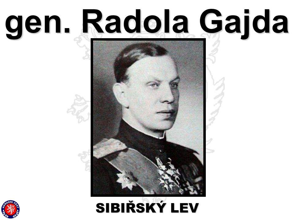 gen. Radola Gajda SIBIŘSKÝ LEV