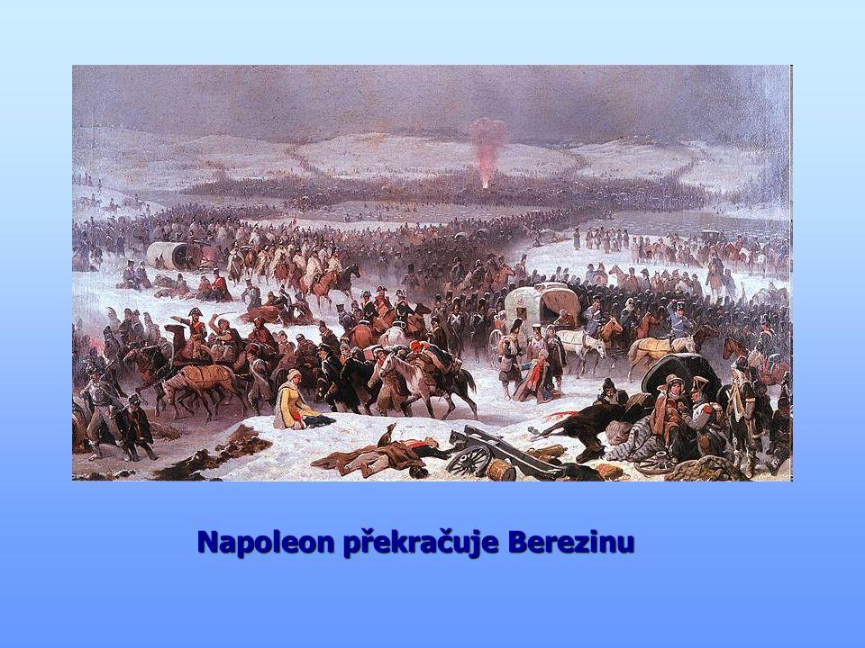 """"""" bitva národů """" bitva národů Napoleon v krátké době vytvořil novou armádu, ale stíhaly ho už jen samé porážky Napoleon v krátké době vytvořil novou armádu, ale stíhaly ho už jen samé porážky v roce 1813 se proti němu spojily všechny evropské státy a porazily jej v roce 1813 se proti němu spojily všechny evropské státy a porazily jej následně byl vyhoštěn na ostrov Elba ve Středozemním moři následně byl vyhoštěn na ostrov Elba ve Středozemním moři Bitva u Lipska - 1813"""
