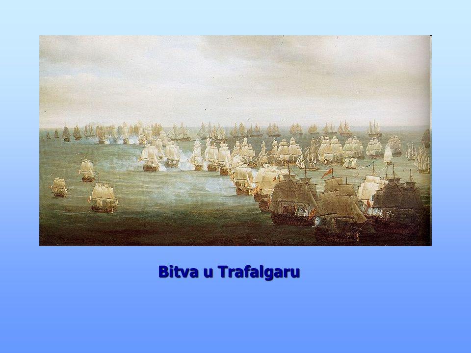 """bitva se odehrála na našem území (u Brna) bitva se odehrála na našem území (u Brna) říká se jí """"bitva tří císařů říká se jí """"bitva tří císařů (Napoleon, František I., Alexandr I.) Napoleon dokonale využil zdejšího terénu Napoleon dokonale využil zdejšího terénu a díky své taktice a strategii za pouhých 6 hodin zvítězil, i když byl nepřítel v přesile Bitva u Slavkova- 1805 Bitva u Slavkova- 1805 francouzská vojska rakouská a ruská armáda"""