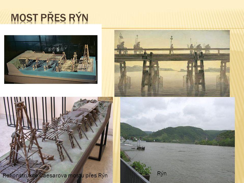 Rekonstrukce Caesarova mostu přes Rýn Rýn