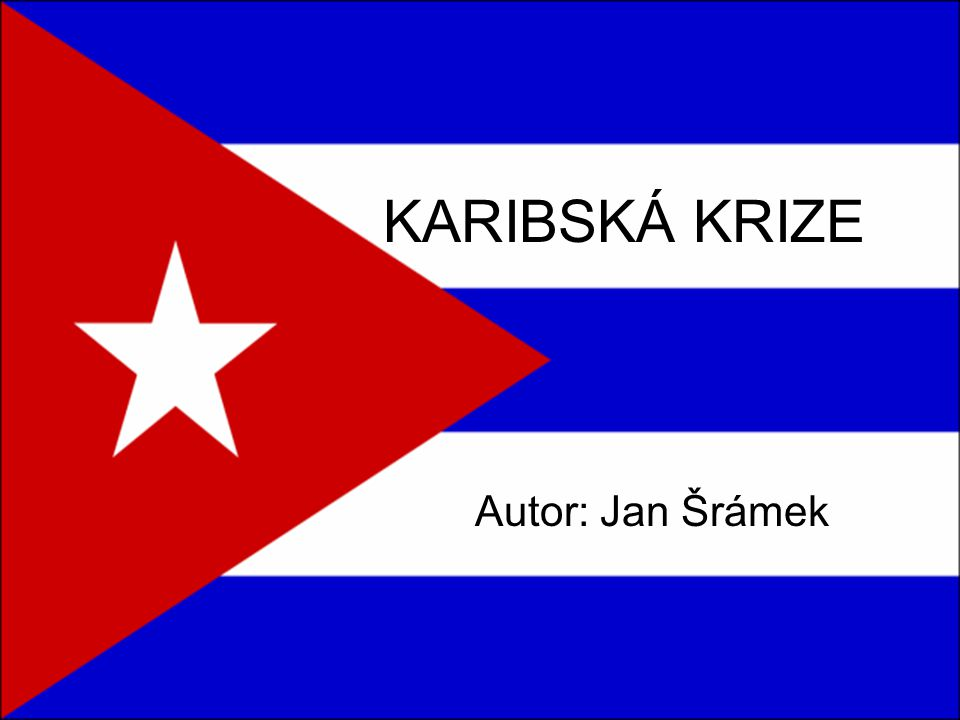 """Kdo """"zvítězil .Tato nebezpečná """"hra supervelmocí a maličké Kuby nemá jasného vítěze."""