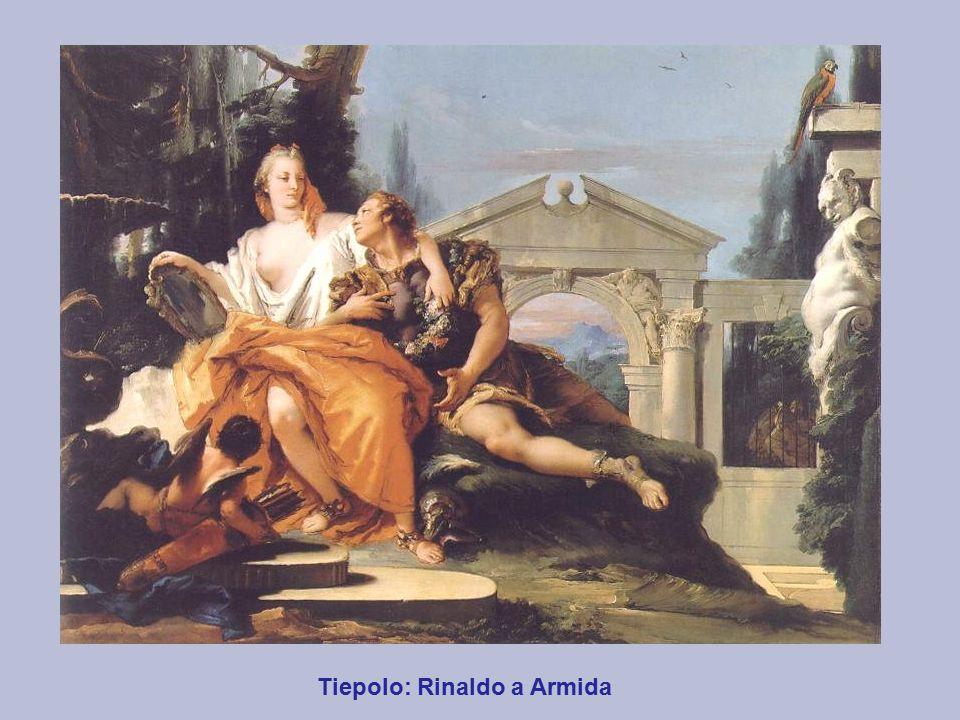 Tiepolo: Rinaldo a Armida
