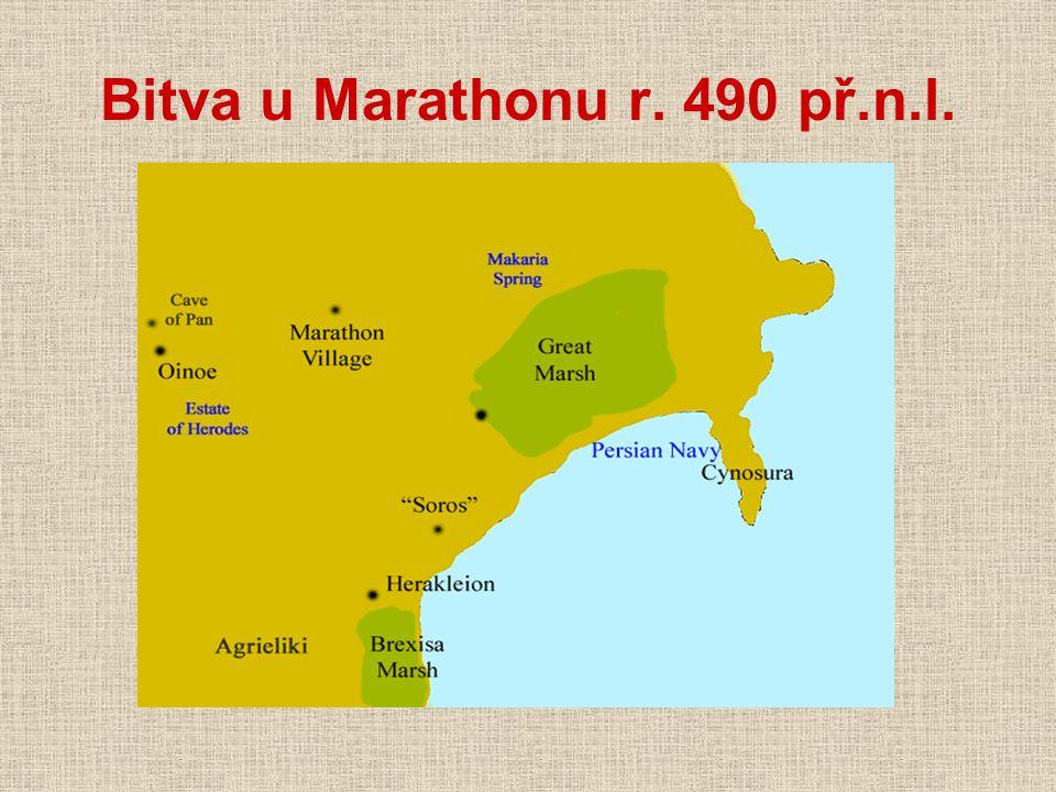 Bitva u Marathonu r. 490 př.n.l.