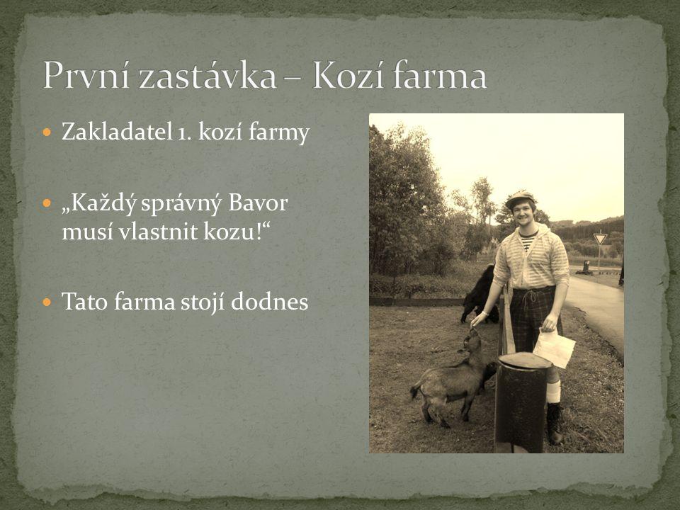 """Zakladatel 1. kozí farmy """"Každý správný Bavor musí vlastnit kozu! Tato farma stojí dodnes"""