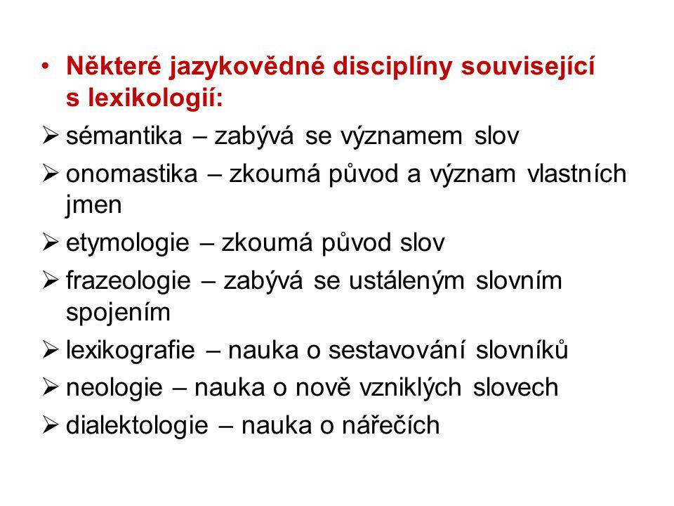 Slovníky výkladové naučné jazykové překladové (cizojazyčné) speciální frazeologické slangové ortografické (pravopisné) etymologické aj.