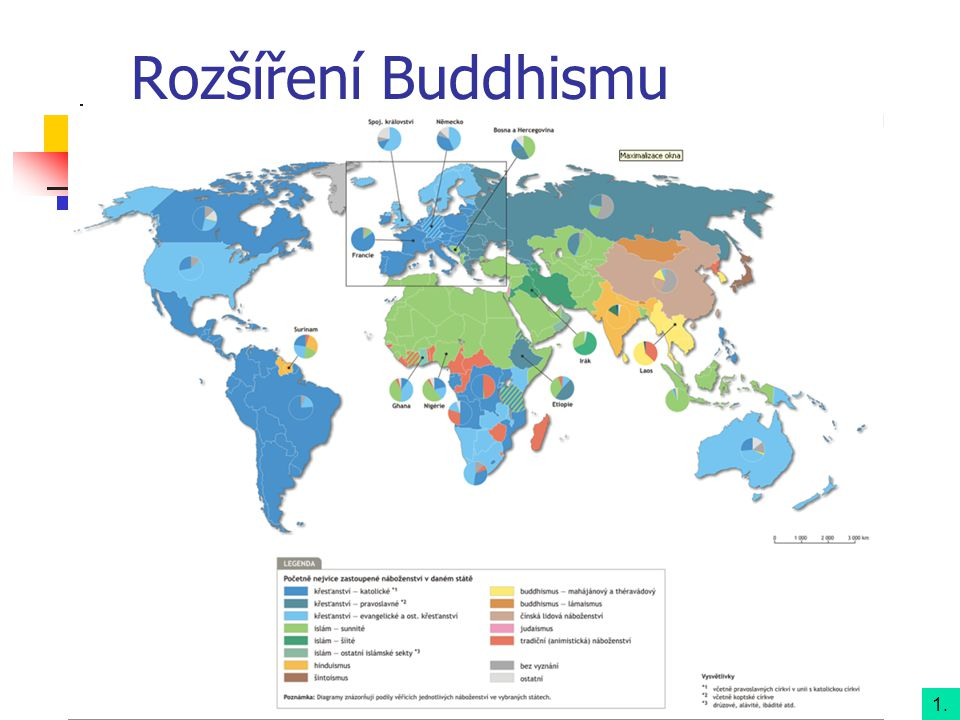 Rozšíření Buddhismu 1.