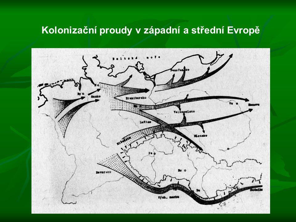 Kolonizační proudy v západní a střední Evropě