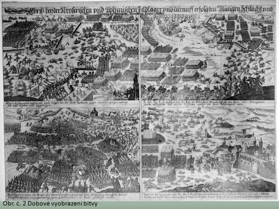 Obr. č. 2 Dobové vyobrazení bitvy