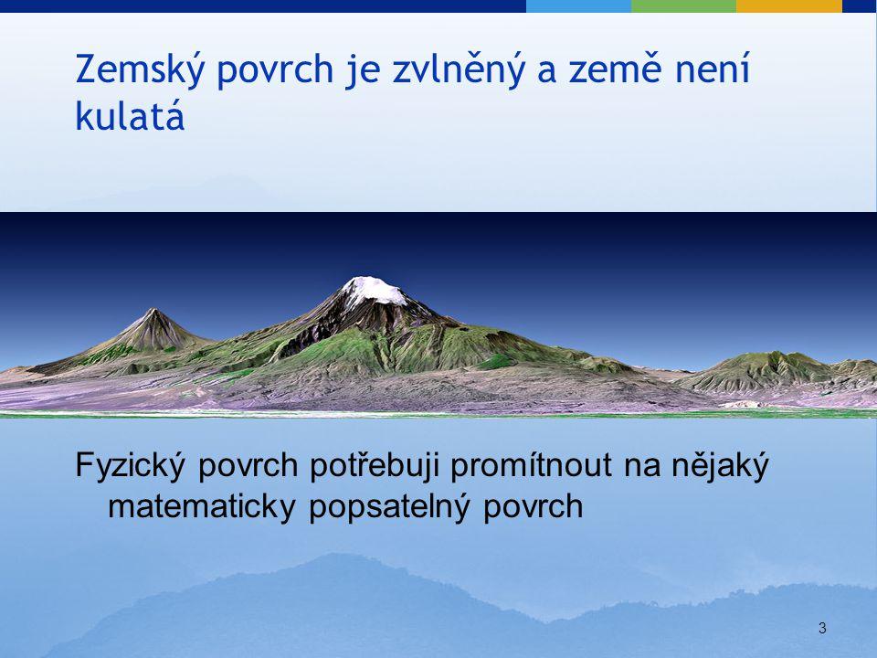 4 Fyzický povrch Země – evolucí vznikl povrch značně zprohýbaný (hory, údolí, plošiny).