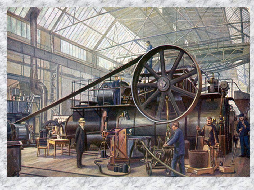 Parní stroj Silniční parní lokomotiva Aveling & Porter byla podle dnešních hledisek kolovým traktorem s parním motorem.