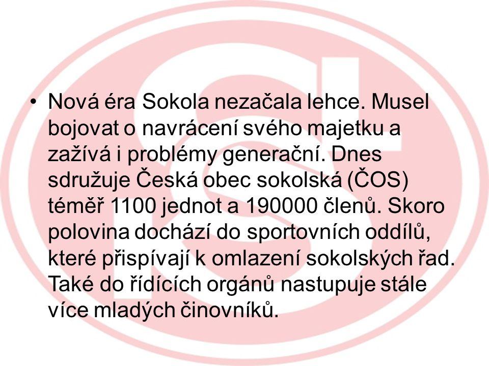 DNES Sokol dnes nabízí veřejnosti program moderních pohybových aktivit formou netradičních akcí