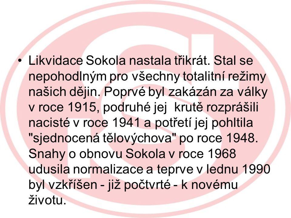 Zlatý věk prožil Sokol mezi světovými válkami, kdy se stal milionovou organizací. V jeho řadách byli i význační politici včetně prezidentů Masaryka a