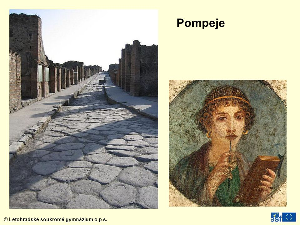 © Letohradské soukromé gymnázium o.p.s. Pompeje