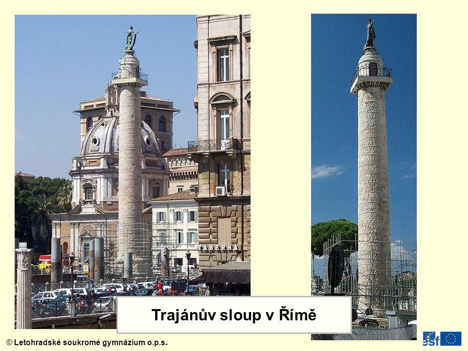 Trajánův sloup v Římě