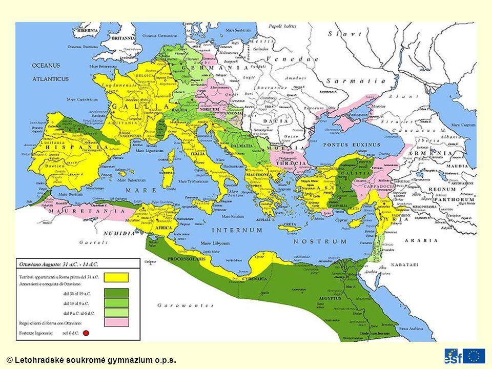 Vnitřní část Kolosea