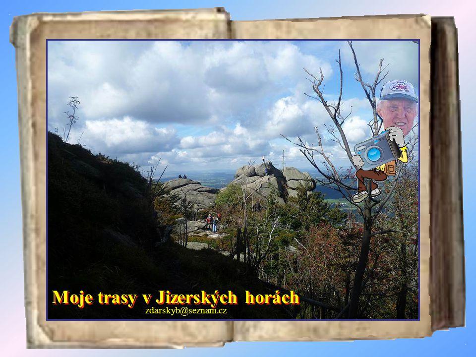 Vodopády Černé Desné Černá Desná pramení východně od hory Jizery a napájí přehradu Souš.