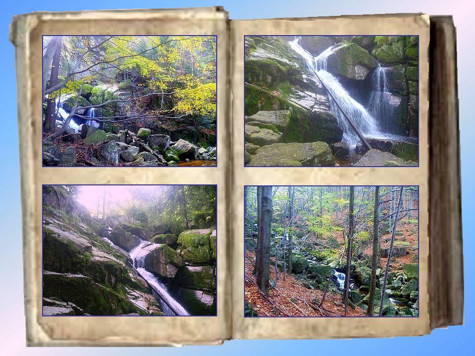 Vodopád Černého potoka Vodopád Černého potoka se nachází ve strmém údolí pod Frýdlantským cimbuřím, kterým protéká Černý potok, vlévající se před Hejnicemi do řeky Smědé.