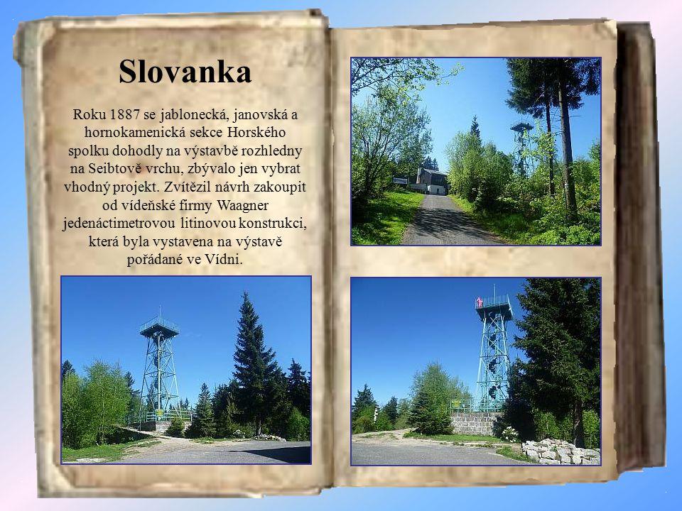 Jizerskohorské rozhledny Na výletech po Jizerských horách narazíte na rozhledny.