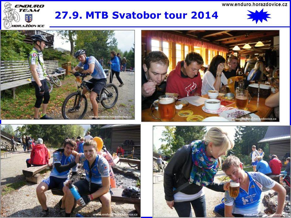 www.enduro.horazdovice.cz 27.9. MTB Svatobor tour 2014