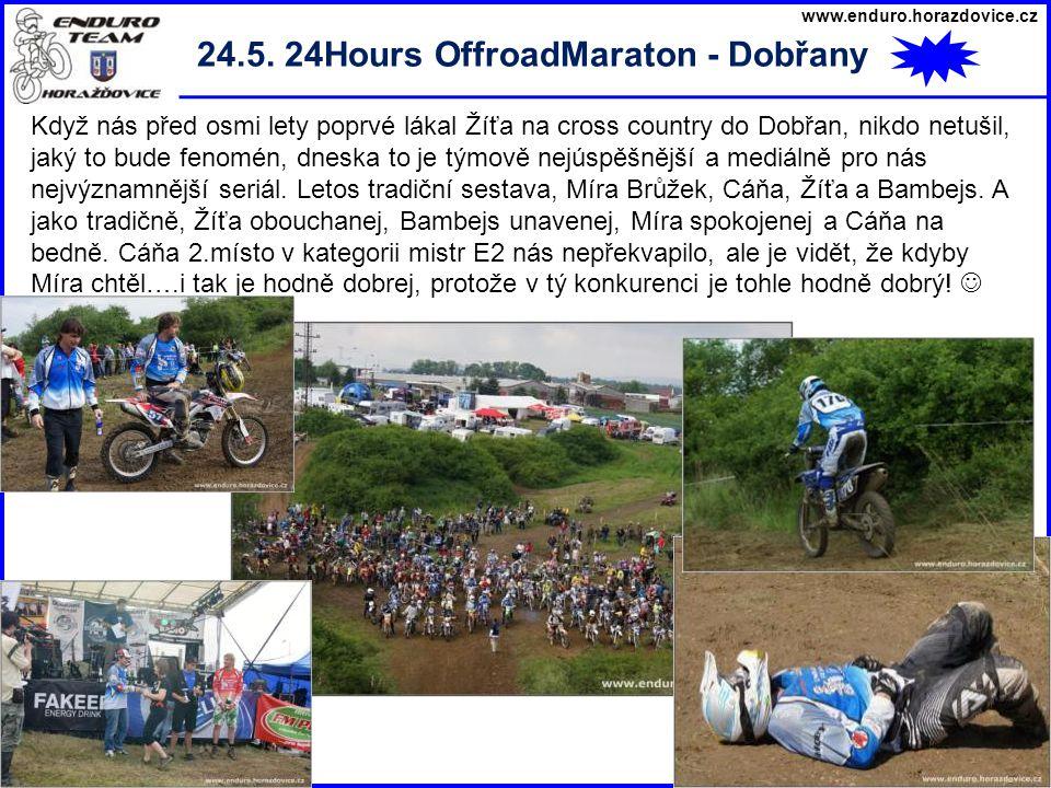www.enduro.horazdovice.cz 28.10. Šumavský pohár - Habeš Zase jsme jim to pěkně vybrali…….