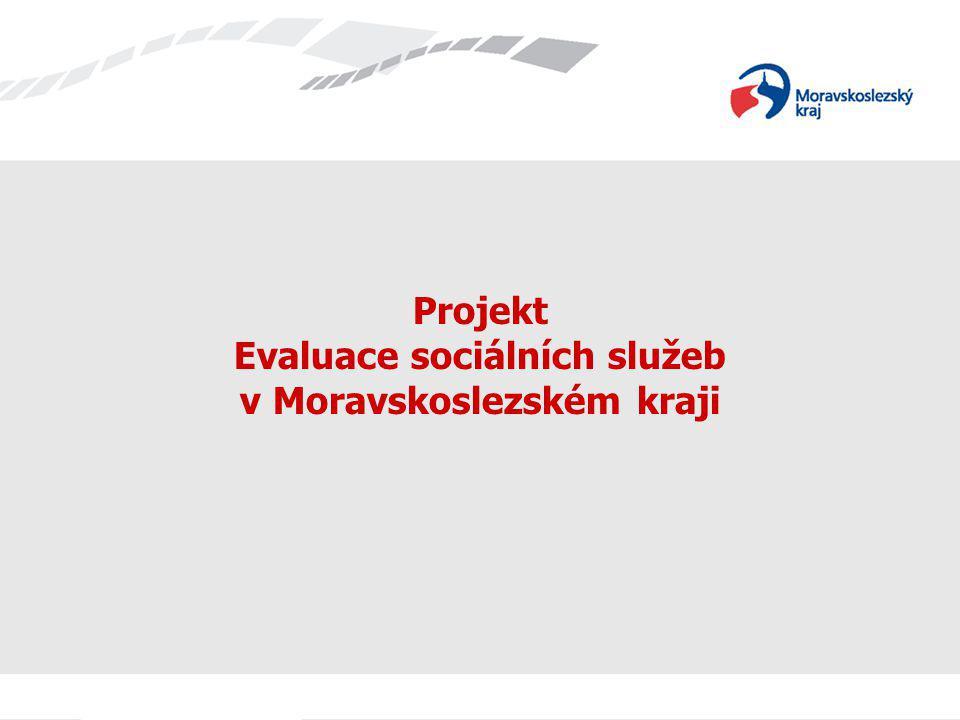 Cíl projektu Dlouhodobým záměrem projektu je regulace sítě sociálních služeb, kdy podporované budou pouze služby, které jsou efektivní, ekonomické a odpovídají skutečným potřebám občanů v daném území.