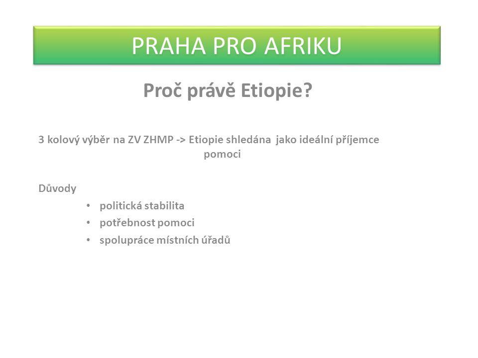 PRAHA PRO AFRIKU Proč právě Etiopie.