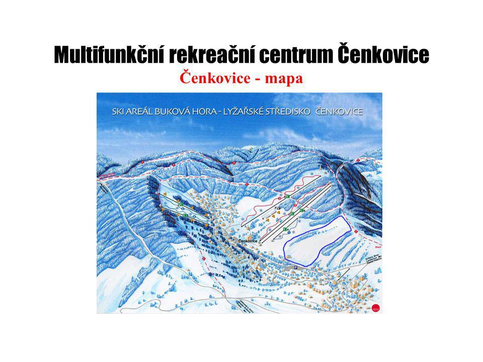 Multifunkční rekreační centrum Čenkovice Čenkovice - mapa