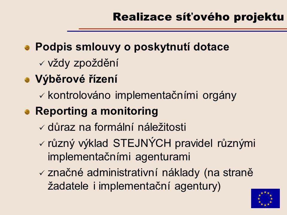 Parametry úspěšného projektu Projekt řeší několik cílů/priorit, ale zřetelně navazují na jednu prioritu OP a tzv.