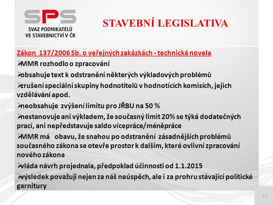 13 Zákon 137/2006 Sb.