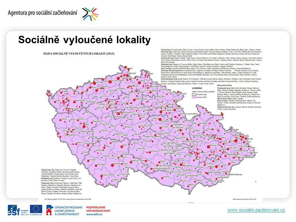 www.socialni-zaclenovani.cz Sociálně vyloučené lokality