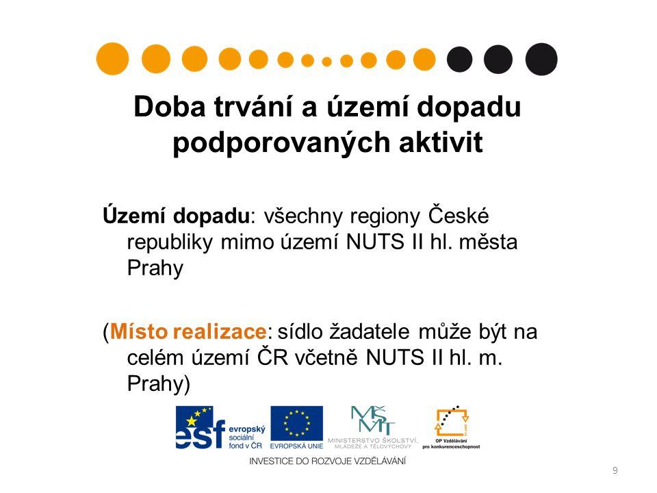 Cíl oblasti podpory 2.4 posílení vztahů mezi institucemi terciárního vzdělávání, výzkumnými organizacemi a subjekty soukromého sektoru a veřejné správy 20