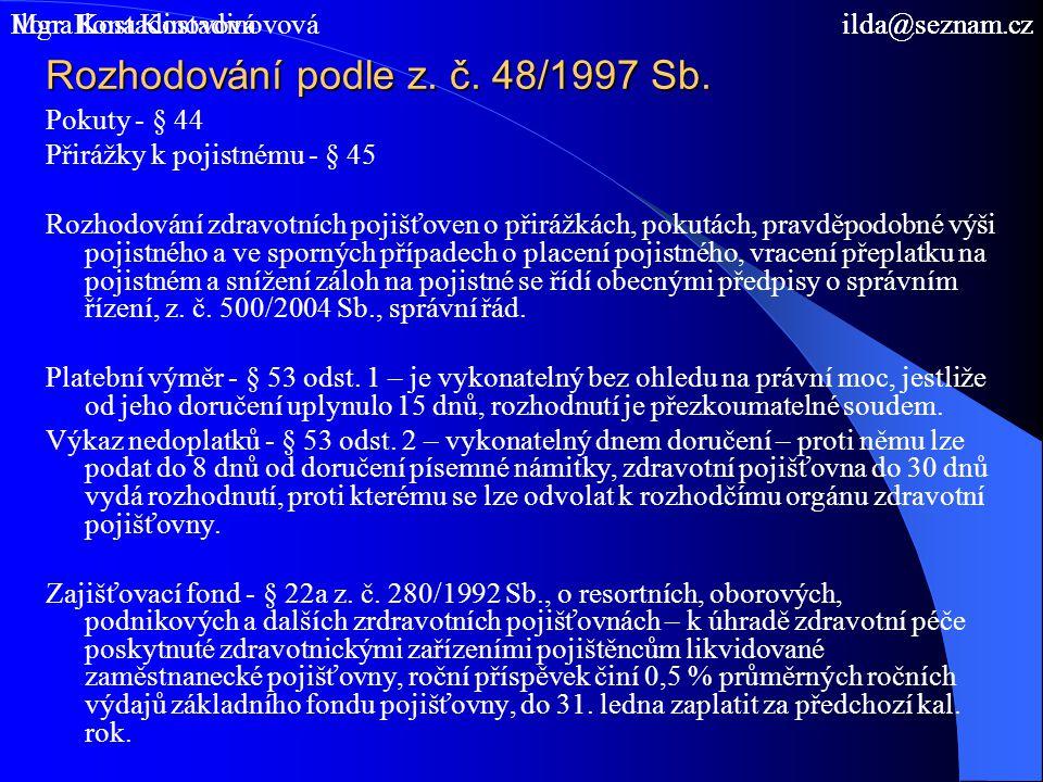 Spoluúčast na úhradě zdravotní péče Z.č.