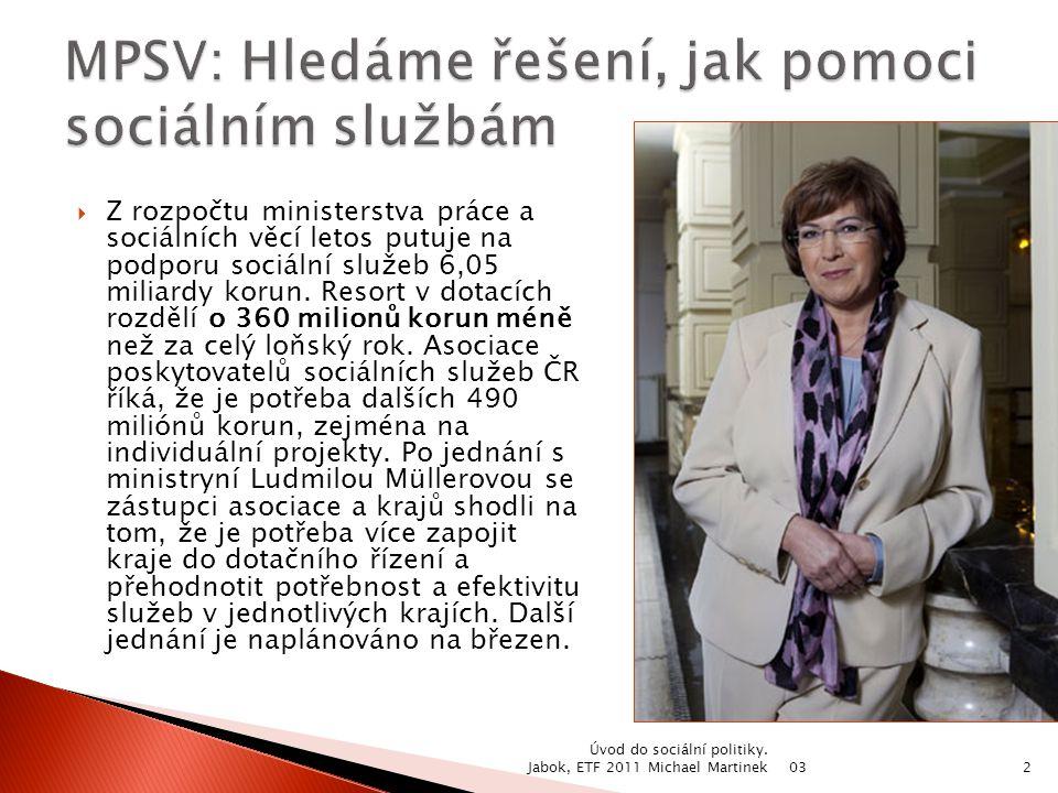 03 Úvod do sociální politiky.