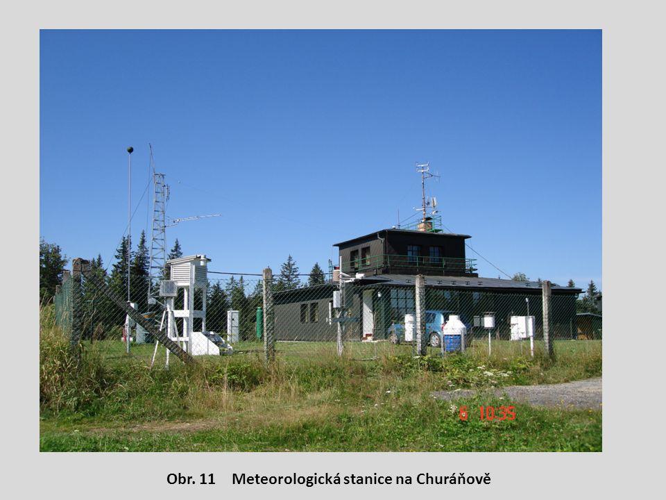 Obr. 11 Meteorologická stanice na Churáňově