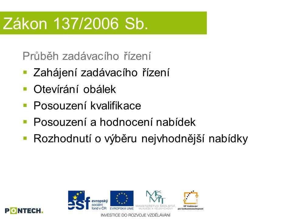 Zákon 137/2006 Sb.