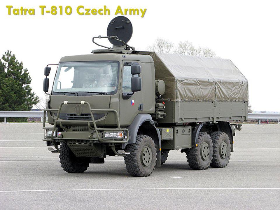 Tatra T-810 Czech Army