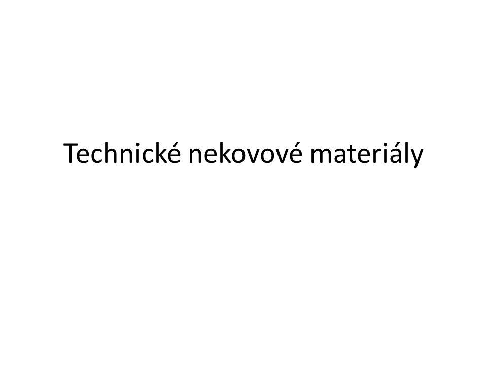 Technické nekovové materiály