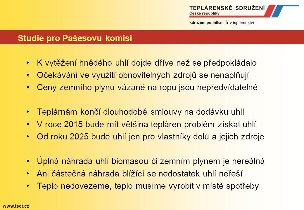 sdružení podnikatelů v teplárenství www.tscr.cz
