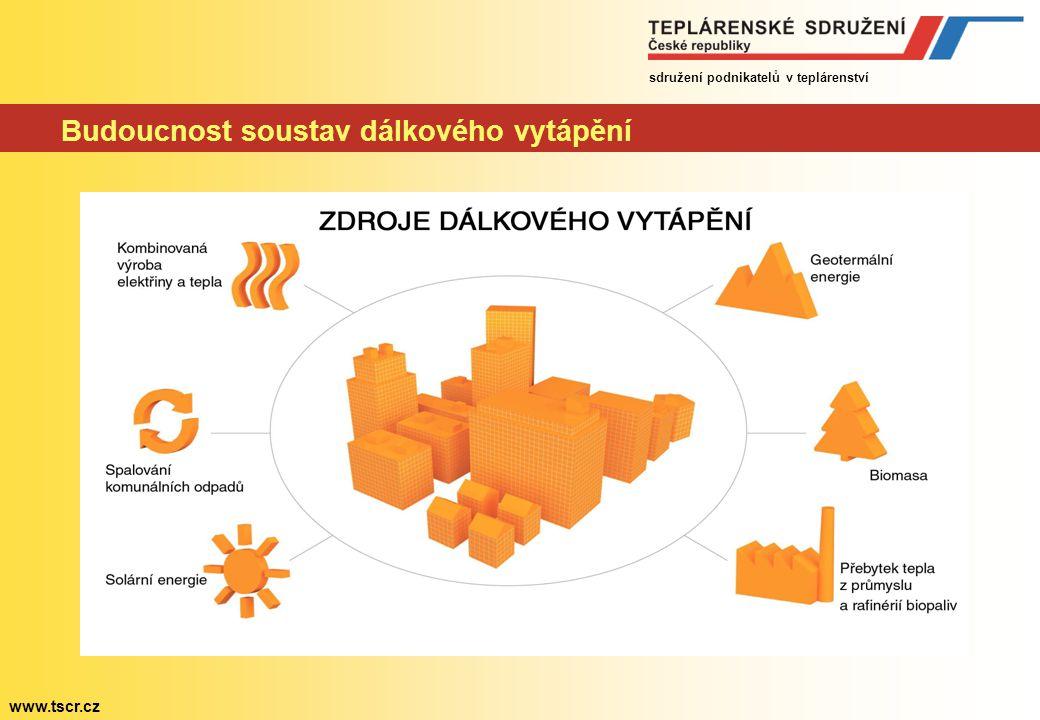 sdružení podnikatelů v teplárenství www.tscr.cz Moderní teplárenství dnes a zítra Stát nadále deklaruje rozvoj systémů dálkového vytápění Výroba elekt