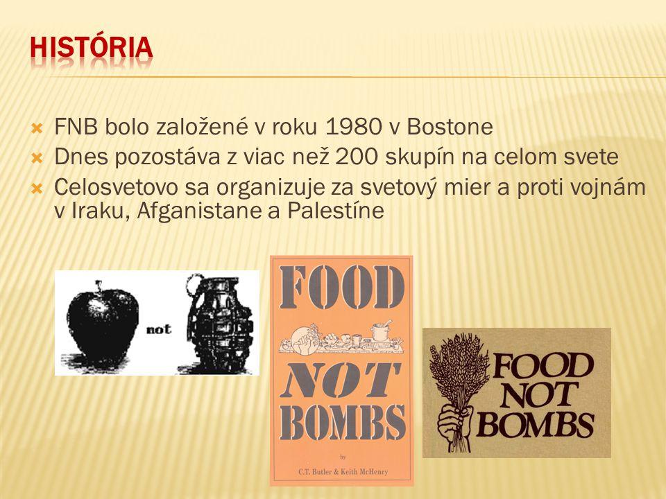  Za solidaritu a proti hladu  Proti armáde  Proti chudobe  Za práva zvierat  Recyklácia potravín