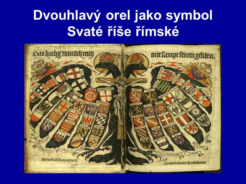 Dvouhlavý orel jako symbol Svaté říše římské