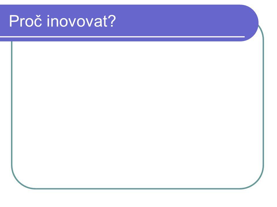 Proč inovovat