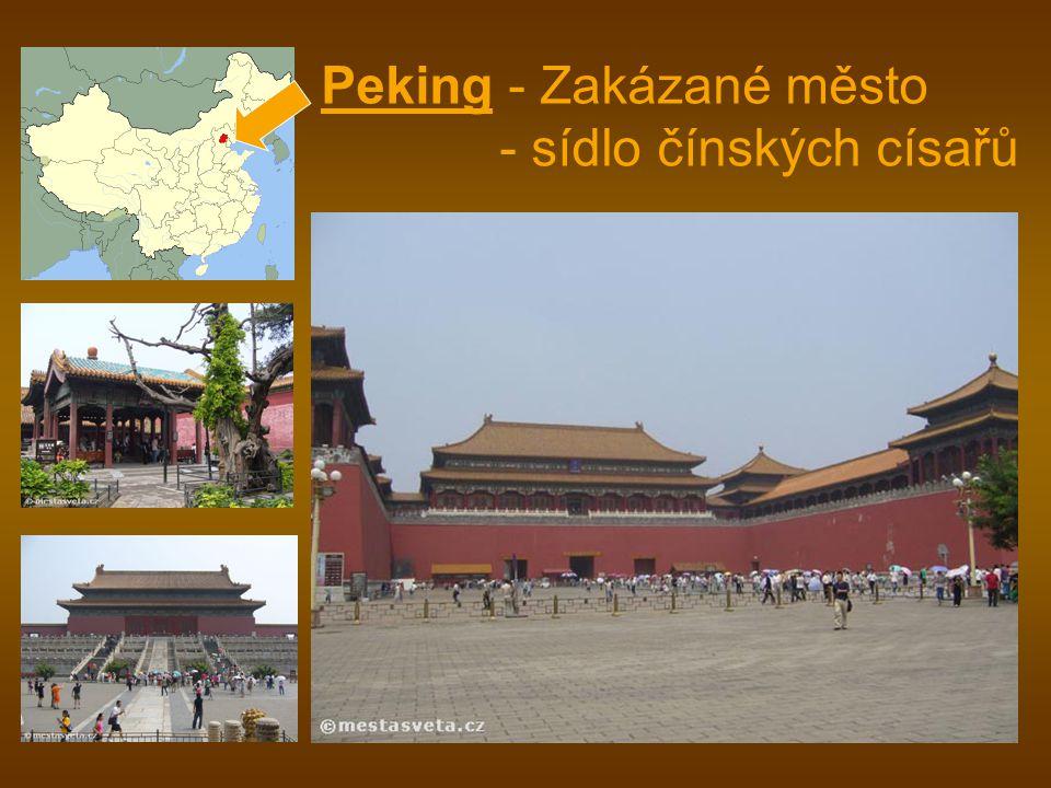 Peking - Zakázané město - sídlo čínských císařů