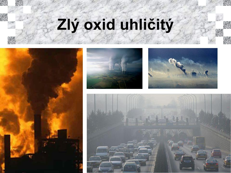 Zlý oxid uhličitý